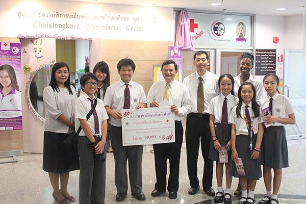 St Stephen donation to Princess Sirindhorn Craniofacial Center